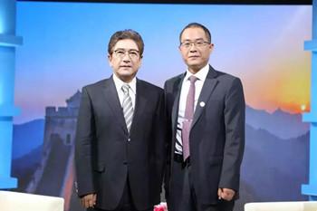 赵健主任做客央视水均益老师《聚焦先锋榜》栏目