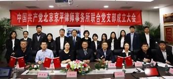 京平律师事务所联合党支部成立大会召开